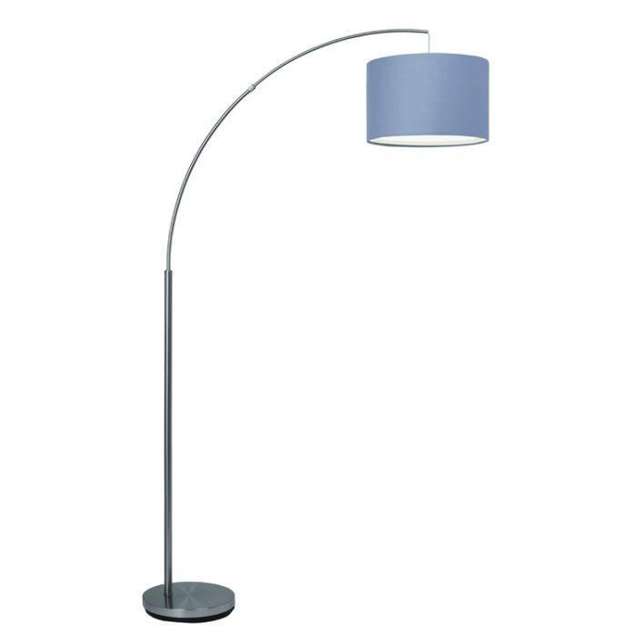 Brilliant Clarie 13258/22 booglamp grijs