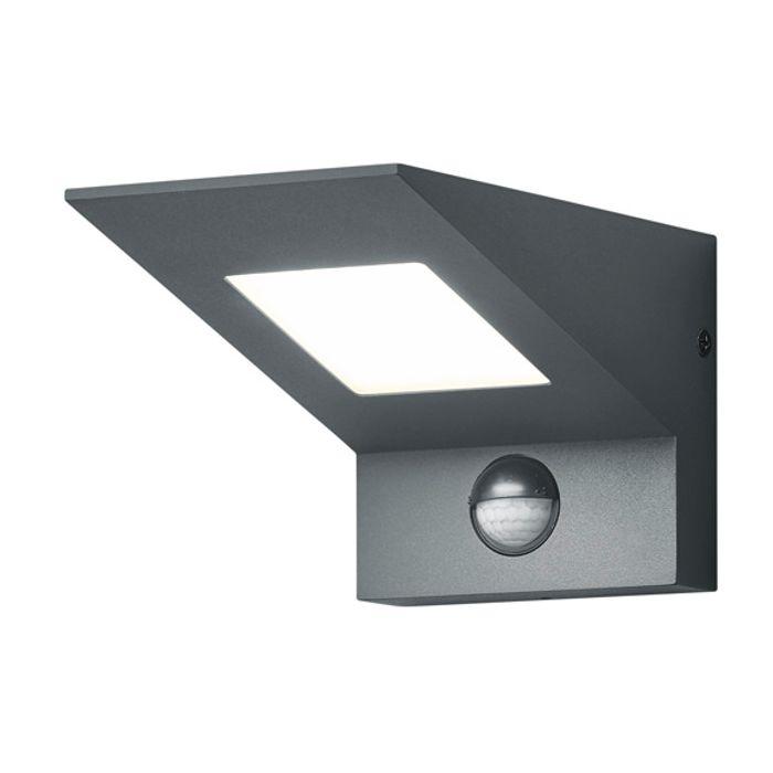 Sensorlamp Nelson antraciet 10cm