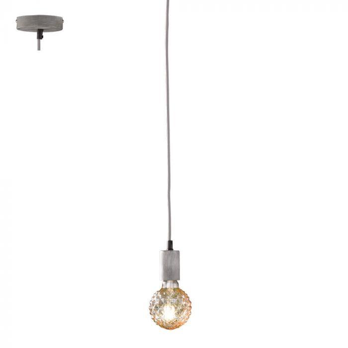 Trio Cord 310100161 hanglamp grijs