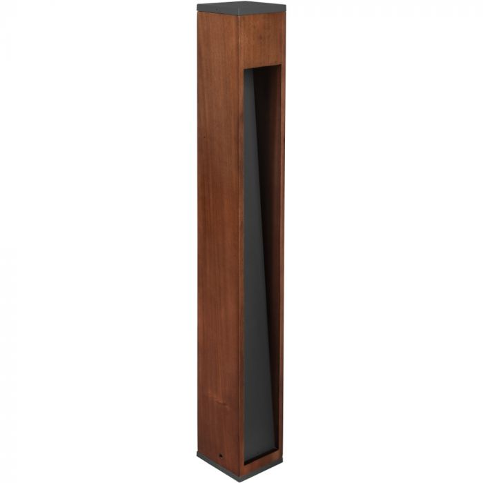 Paallamp Canning hout 80cm