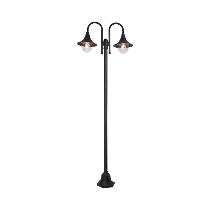 Brilliant Berna 41087/06 lantaarnpaal zwart