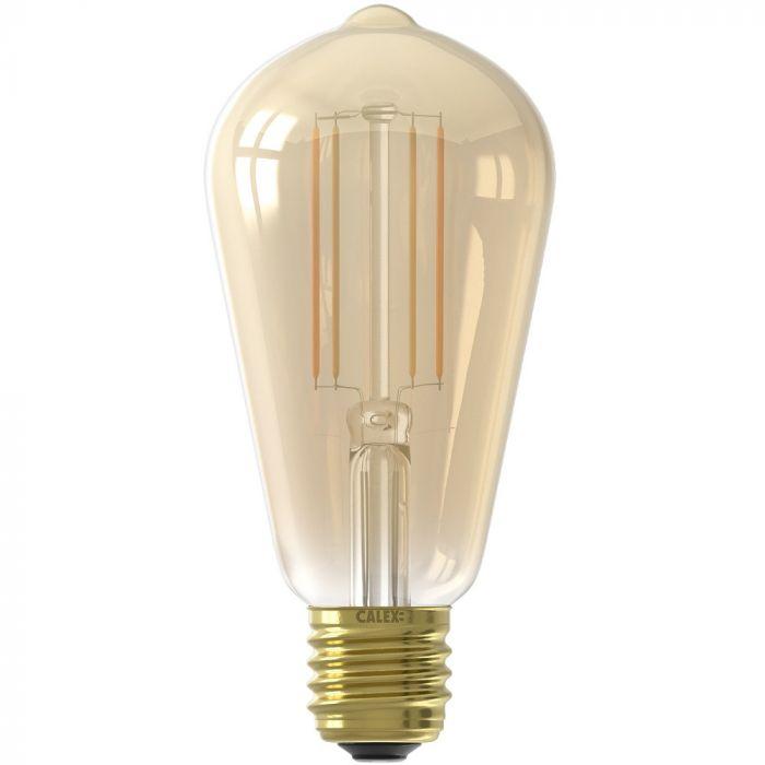 ST64 E27 Smart CCT 7w 806lm goud