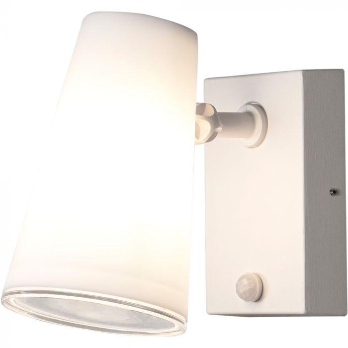 Sensorlamp Fano opaal 22cm