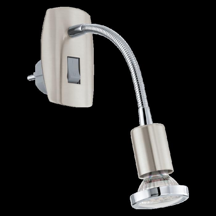 Eglo Mini 4 LED stekkerlamp 92933 chroom
