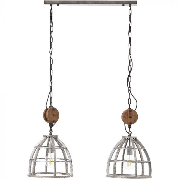 Hanglamp Century 93565/43 zink 93cm