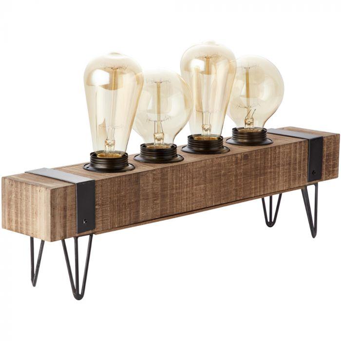 Tafellamp Woodhill 93723/76 hout 46cm