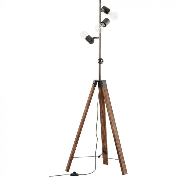 Vloerlamp Woodhill 93724/76 hout 138cm