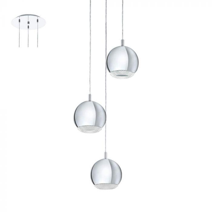 Eglo Conessa 95913 hanglamp chroom