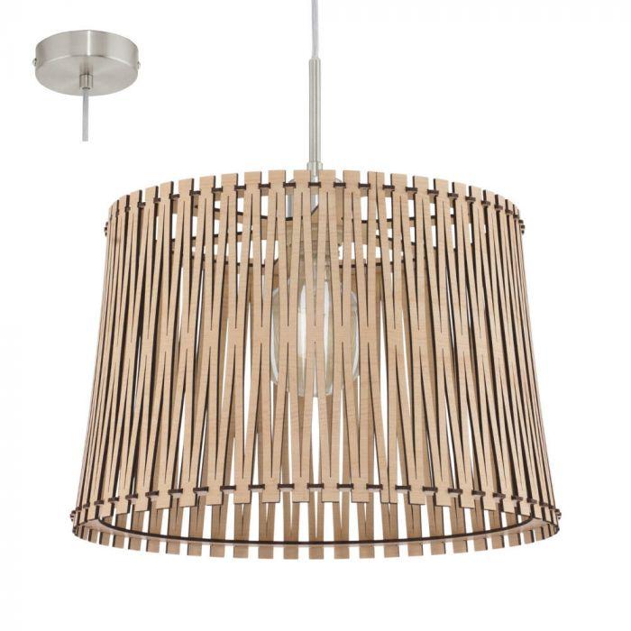 Eglo Sendero 96192 hanglamp hout