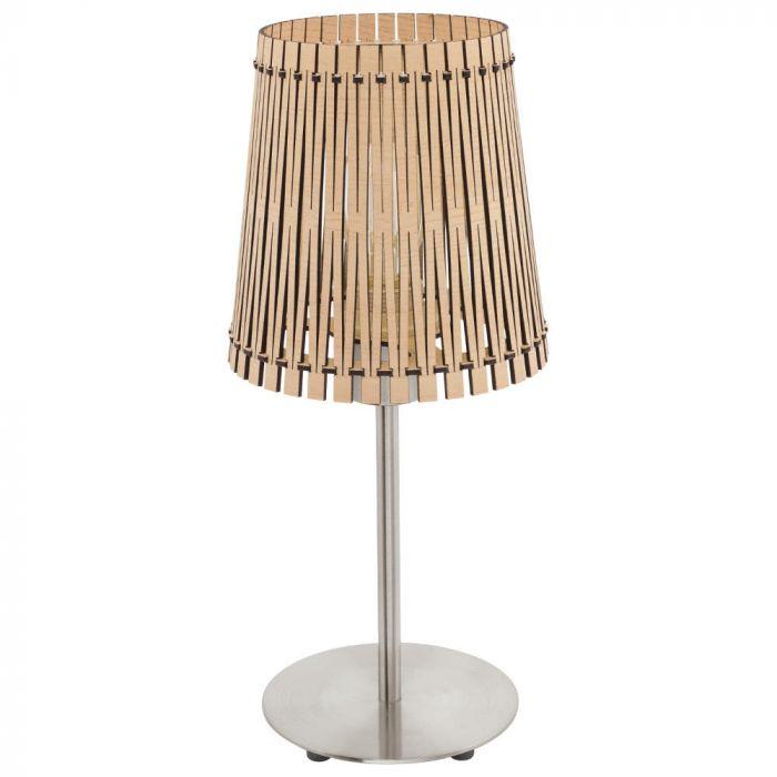 Eglo Sendero 96196 tafellamp hout