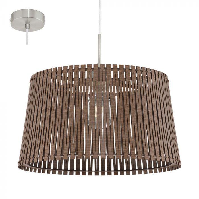 Eglo Sendero 96199 hanglamp bruin