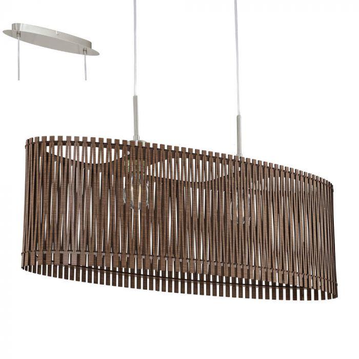 Eglo Sendero 96201 hanglamp bruin