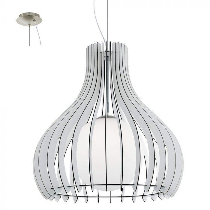 Eglo Tindori 96212 hanglamp wit