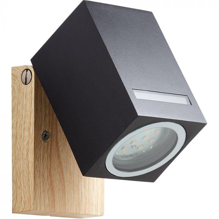 Wandlamp Galeni 96375/76 zwart 12cm