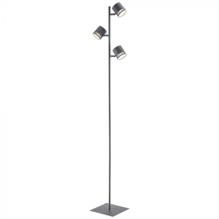 Brilliant Cavi G73159/22 vloerlamp antraciet