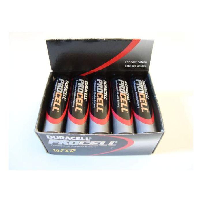 Duracell Procell Penlite AA Batterij 1,5v 10 stuks