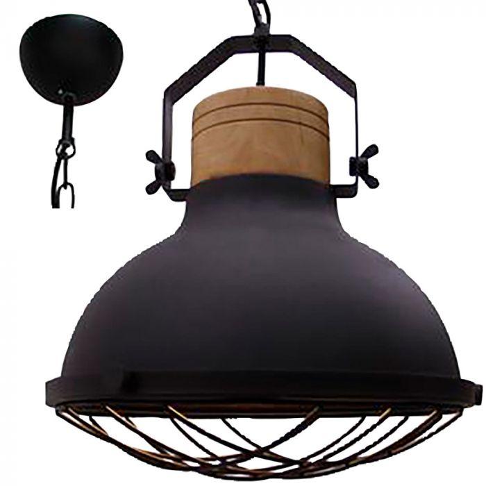 Brilliant Emma 93571/86 hanglamp zwart