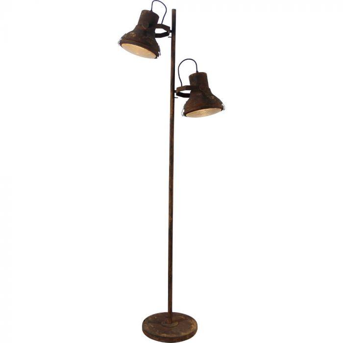 Brilliant Frodo 98943/60 vloerlamp roest