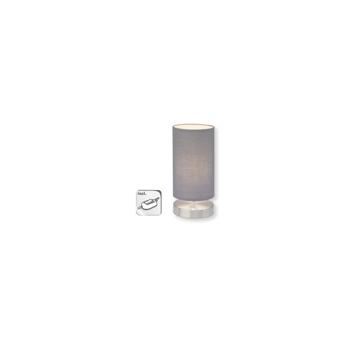 Brilliant Clarie 13247/22 tafellamp grijs