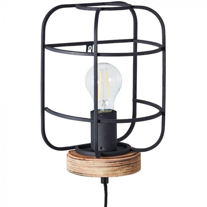 Wandlamp Gwen zwart 29cm