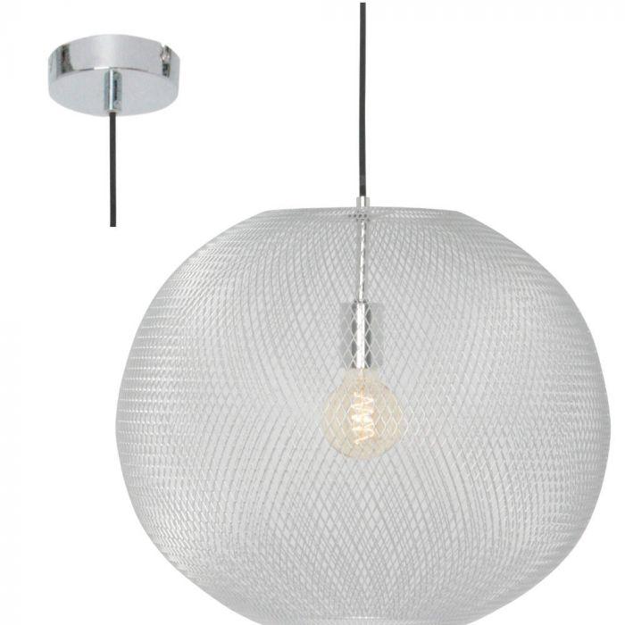 Freelight Noa H3211S hanglamp zilver