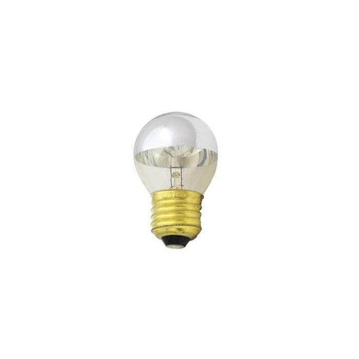 Kopspiegel Kogellamp zilver E27 25w