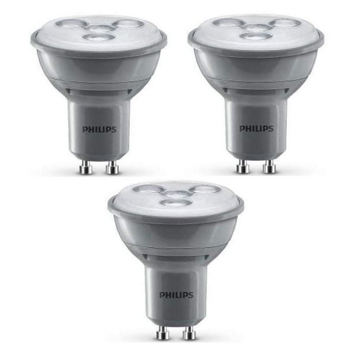 GU10 LED spot Philips 4,5w (35W) 36D 2700k dim 3st
