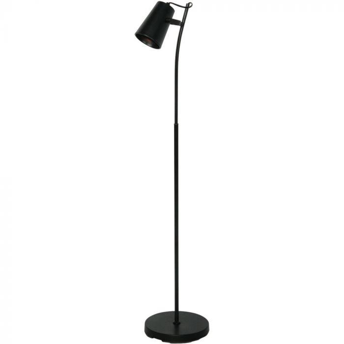 Freelight Lettura S1450Z vloerlamp zwart