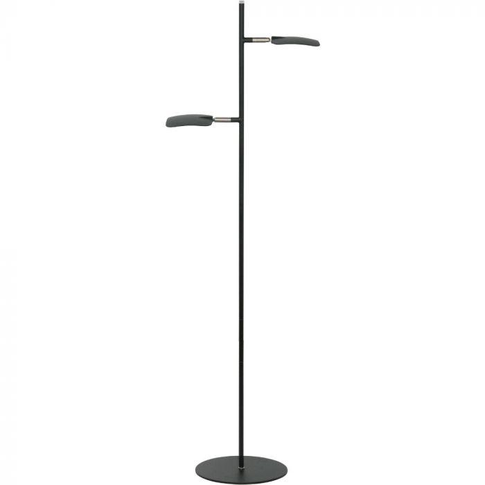 Freelight Raggio S1512Z vloerlamp zwart