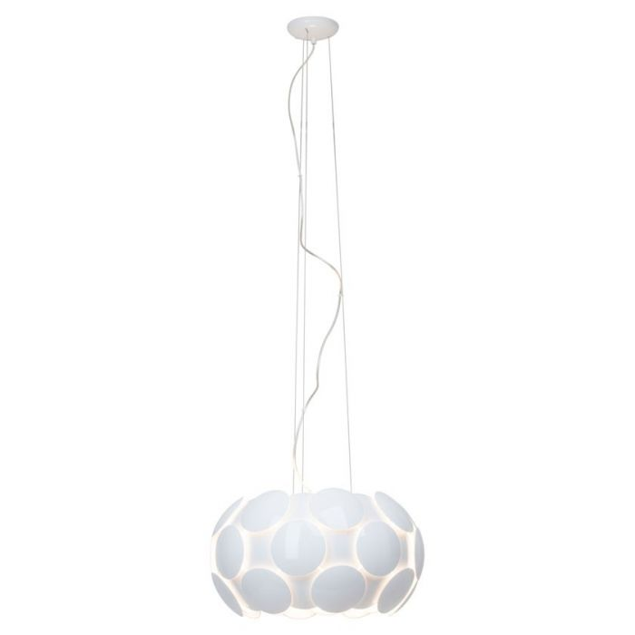 Brilliant Status 60877/05 hanglamp wit