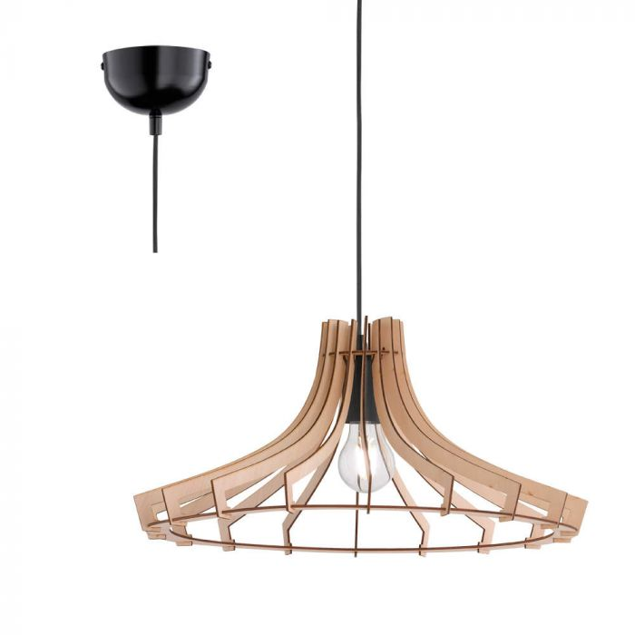 Trio Wood R30254730 hanglamp hout