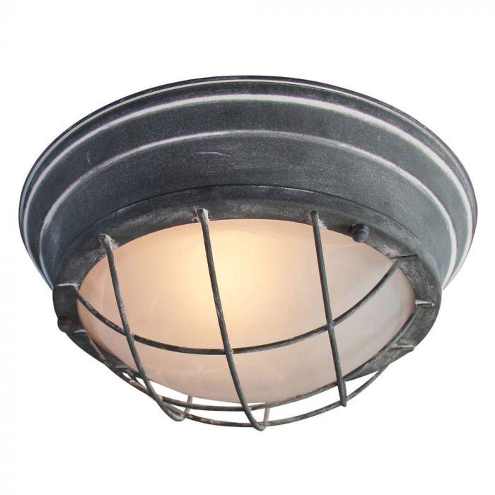 Brilliant Typhoon 94492/70 wand/plafonlamp beton