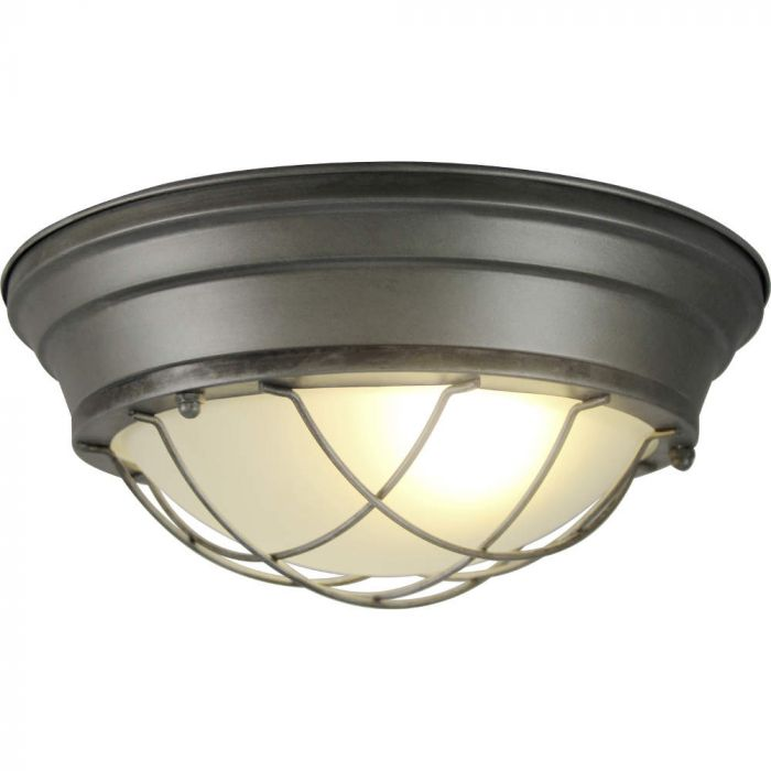 Brilliant Typhoon 94492/84 plafondlamp burning steel
