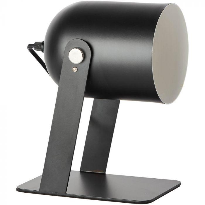 Tafellamp Yan zwart 29cm