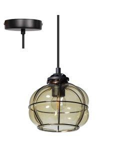 ETH Smokey Venice hanglamp 05-HL4435-3065 groen