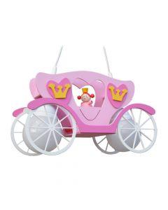 Hanglamp Koets prinses roze