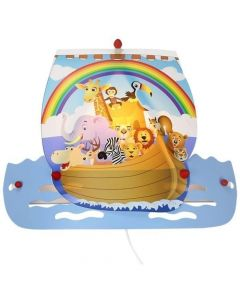 Wandlamp Ark Noah blauw