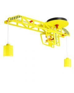 Hanglamp Hercules geel 60cm