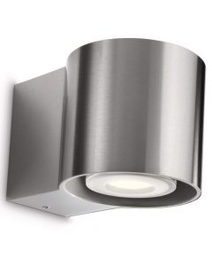 Philips Bumblebee 163184316 wandlamp staal