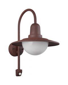 Sensorlamp Norman roest 45cm