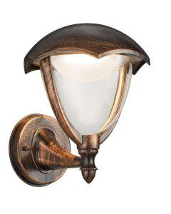 Trio Gracht 221960128 wandlamp roest
