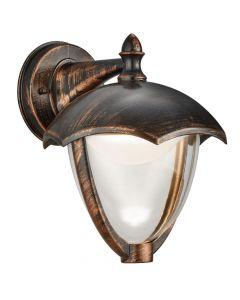 Trio Gracht 221967128 wandlamp roest