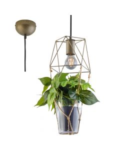 Hanglamp Plant 301000167 staal 22cm