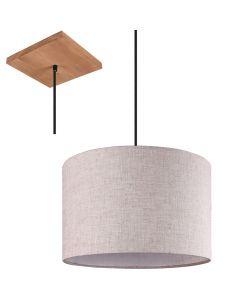Hanglamp Elmau 302100130 wit 35cm