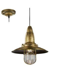 Trio Fisherman 304500104 hanglamp brons