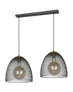 Hanglamp Ivar 309000267 staal 130cm