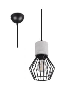 Hanglamp Jamiro 309200132 beton 15cm
