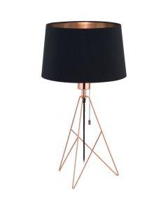 Eglo Camporale 39178 tafellamp koper
