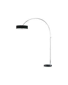Trio booglamp serie 4211 zwart
