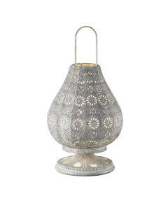 Trio Jasmin 503700161 tafellamp grijs